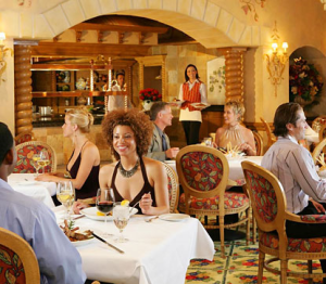 Great service can come down to the host seating you at your restaurant