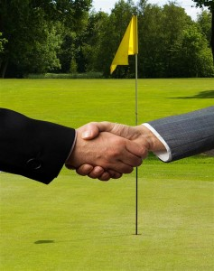 How much time do you have to actually practice 'sales' in the same way you practice golf?