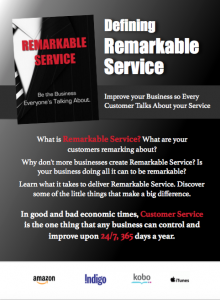 Customer Service book media kit