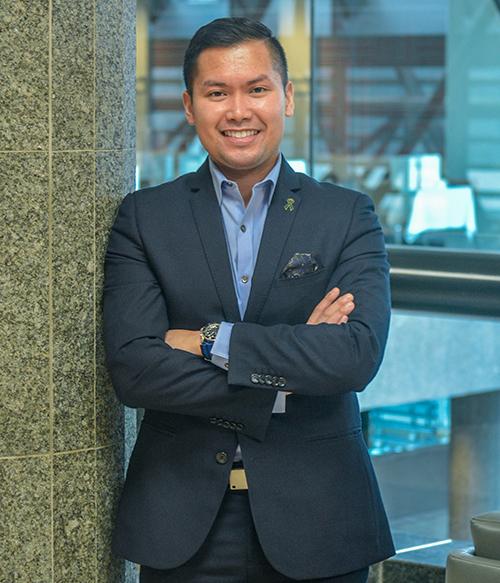 Raymark Dizon, Director, Marketing & Business Development, Alberta